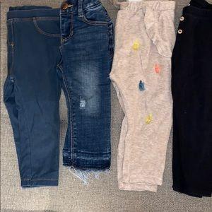Baby/ toddler girl pants bundle/ lot
